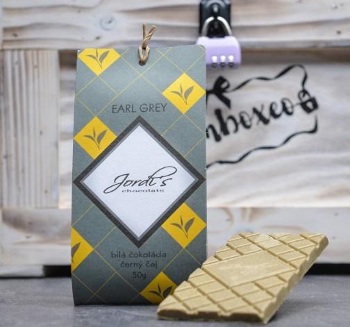 Čokoláda Tea Earl Grey